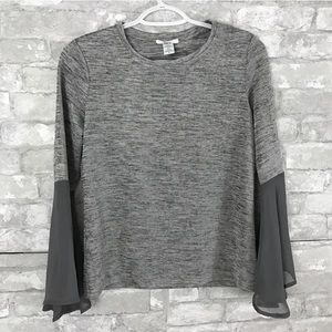 Bar III Gray Blouse